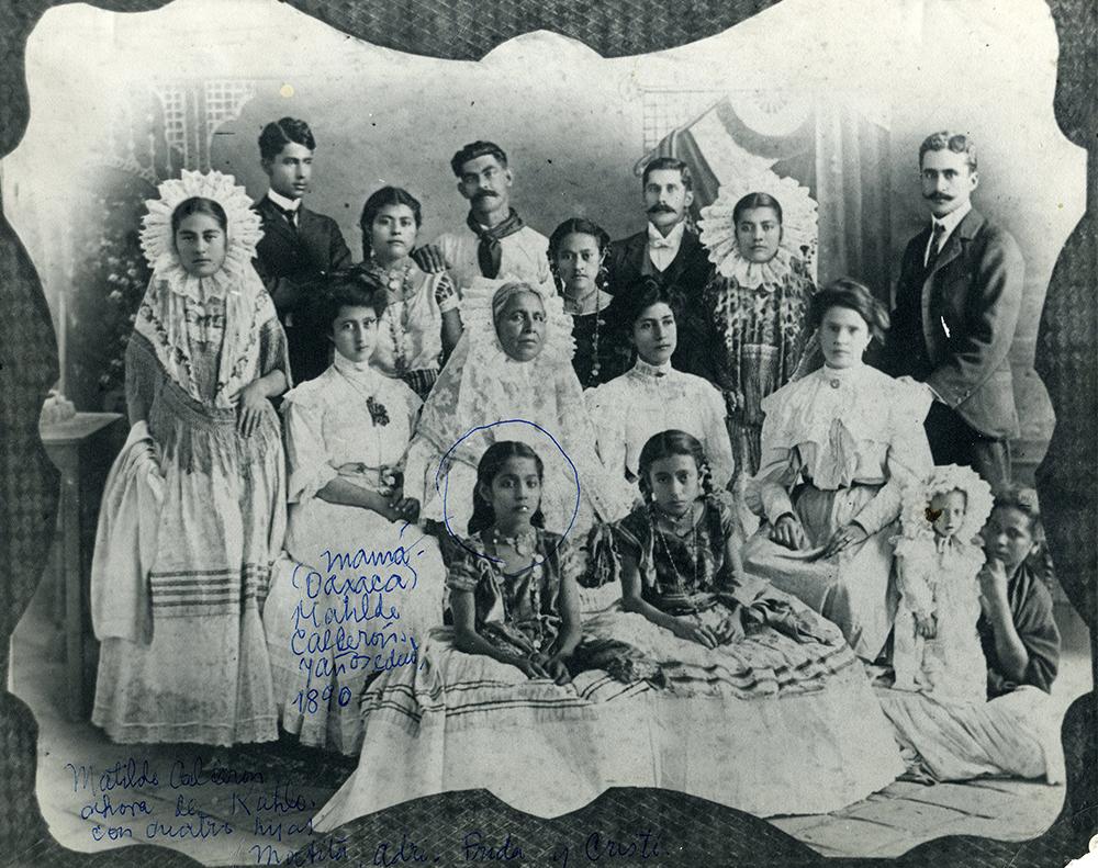 Kahlo's Maternal Family.